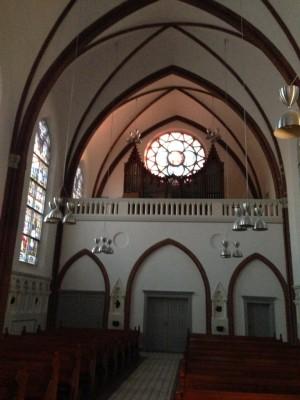 Kirke mod øst